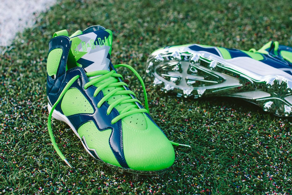 "Air Jordan VII Cleat ""Earl Thomas"""