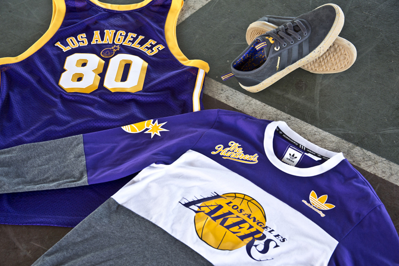 The Hundreds In Collaboration With Adidas And The NBA