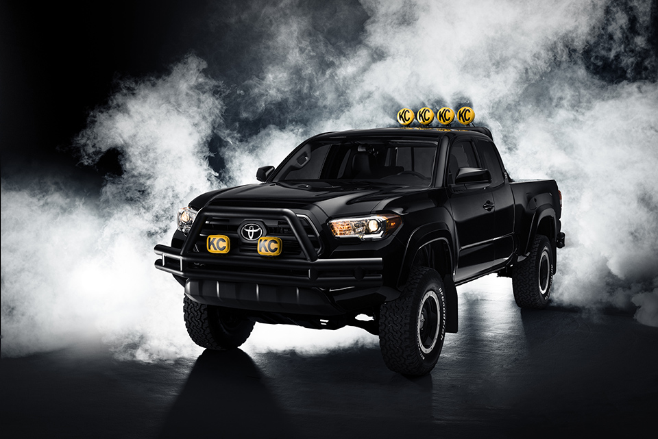 Marty Mcfly's Dream Truck in the Future
