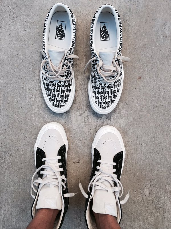 Fear of God x Vans – An Early Look