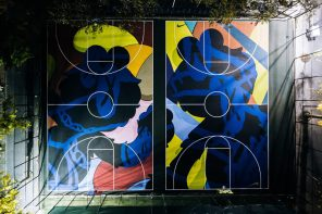 Nike Opens Stanton Street Courts by Kaws