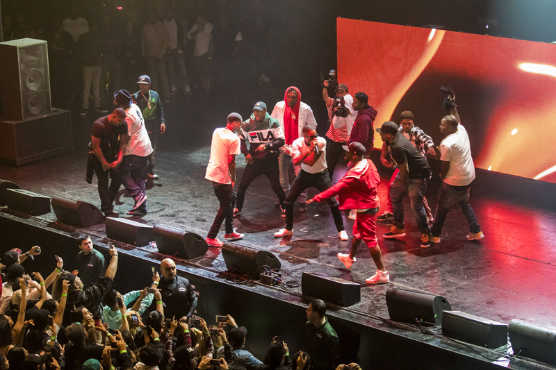 YG performs at The Wiltern Theater as part of Red Bull Sound Select Presents: 30 Days in LA, in Los Angeles, CA, USA on 29 November, 2016. // Marv Watson / Red Bull Sound Select / Content Pool // P-20161130-00682 // Usage for editorial use only // Please go to www.redbullcontentpool.com for further information. //