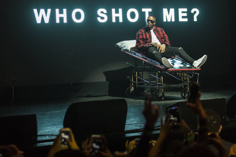 YG performs at The Wiltern Theater as part of Red Bull Sound Select Presents: 30 Days in LA, in Los Angeles, CA, USA on 29 November, 2016. // Marv Watson / Red Bull Sound Select / Content Pool // P-20161130-00690 // Usage for editorial use only // Please go to www.redbullcontentpool.com for further information. //