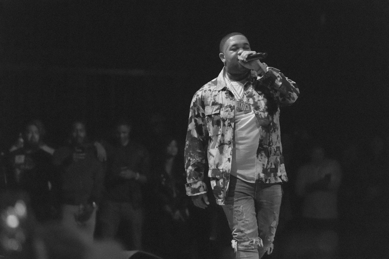 DJ Mustard joins YG on stage as a guest during his performance at The Wiltern Theater as part of Red Bull Sound Select Presents: 30 Days in LA, in Los Angeles, CA, USA on 29 November, 2016. // Marv Watson / Red Bull Sound Select / Content Pool // P-20161130-01112 // Usage for editorial use only // Please go to www.redbullcontentpool.com for further information. //