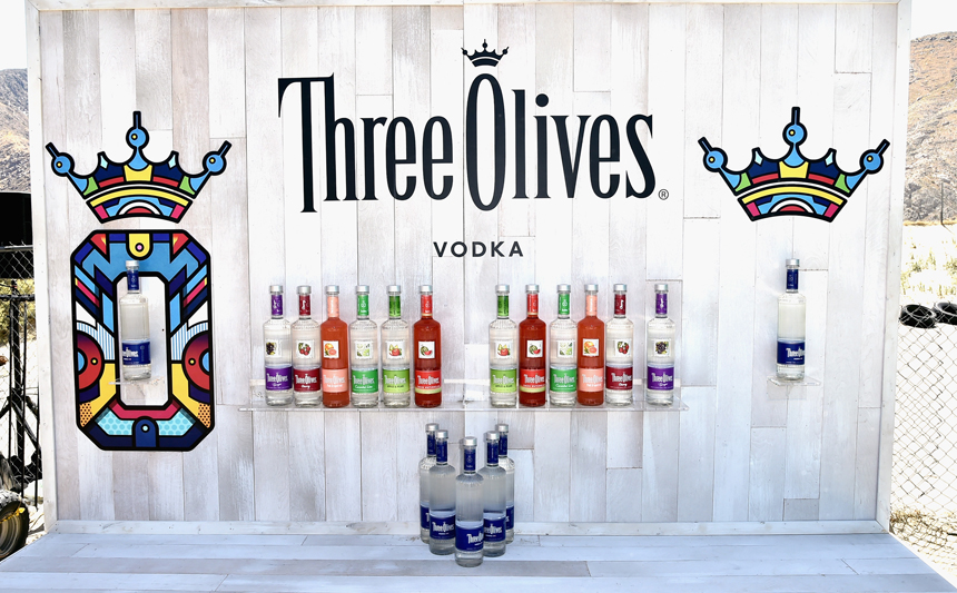 PALM SPRINGS, CA - APRIL 13:  Display atmosphere at Three Olives® Vodka Find Otherness at its pop-up thrift shop on the desert road to Indio, Thursday, April 13, 2017 at The Saguaro hotel, Palm Springs.  (Photo by David Crotty/WireImage)