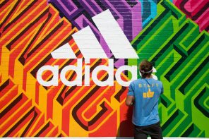 adidas x Colossal Media Bring Urban Running to Life Through Art in Bushwick