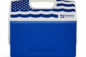 Igloo and the Surfrider Foundation partner on a limited edition Playmate cooler