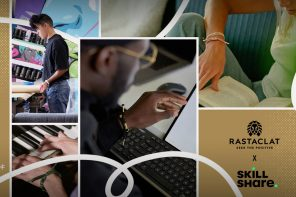 The Seek the Positive Foundation and Rastaclat have partnered with Skillshare