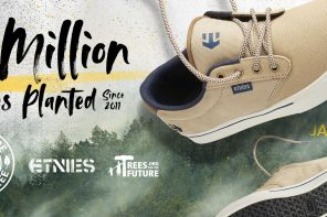 etnies Expands Buy a Shoe, Plant a Tree Program to Include Fighting Poverty and Environmental Decay