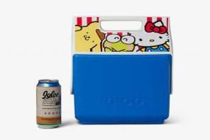 Igloo and Sanrio released a new collection of coolers